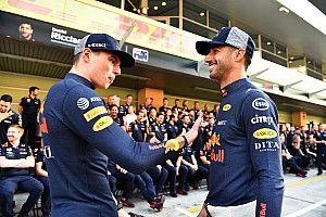 RBR: Verstappen e Ricciardo foram a melhor dupla da equipe