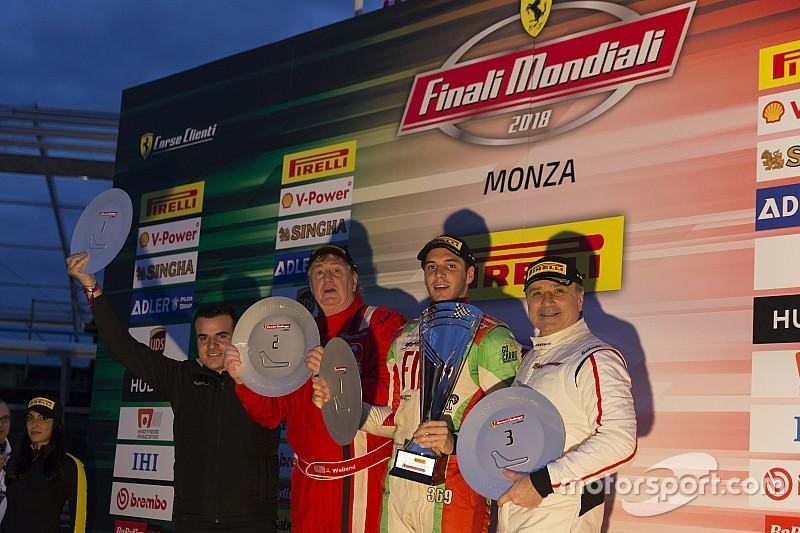 """Ferrari, Hites: """"Vincere a Monza è speciale e nella Finale voglio giocarmela"""""""
