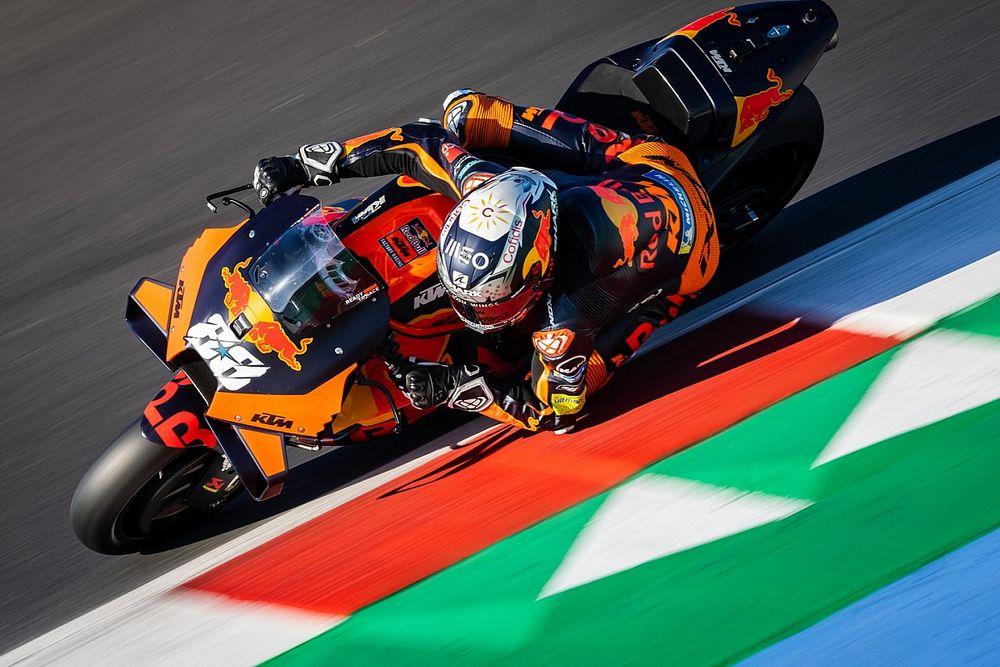 Le nouveau pneu avant MotoGP peut-être repoussé à 2024