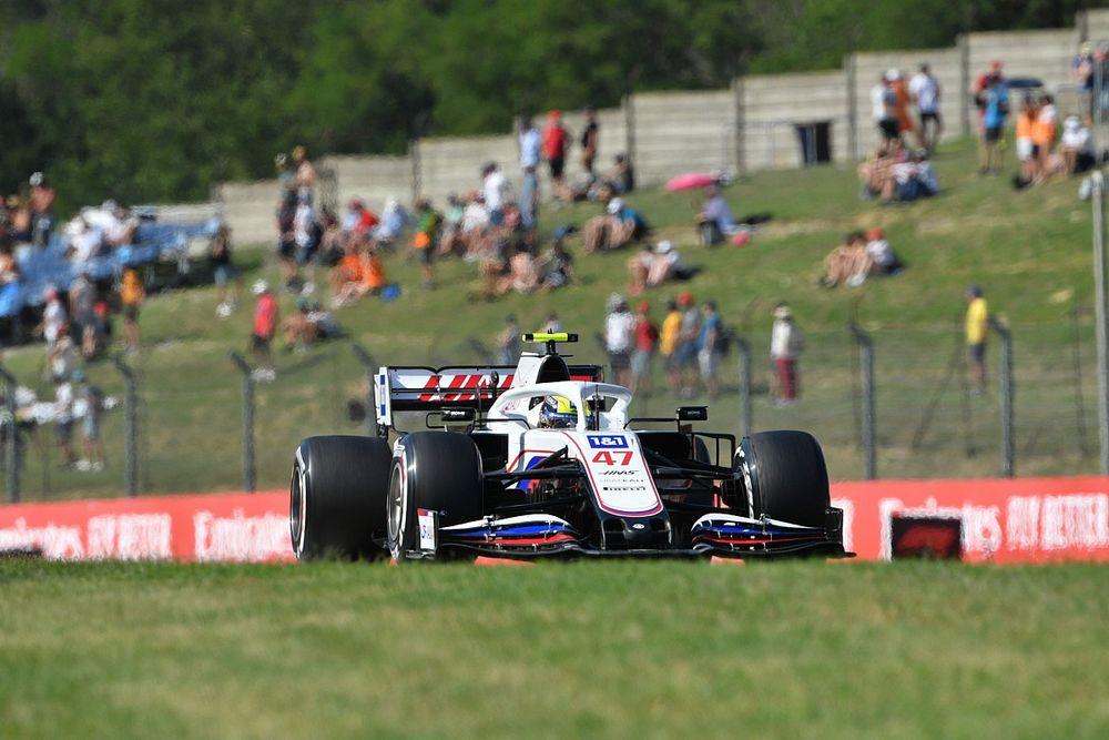 F1-Training Ungarn 2021: Rote Flagge nach Unfall von Mick Schumacher