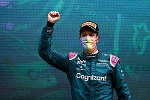 """Vettel: """"2022 lastikleriyle kerbleri göremiyorsunuz"""""""