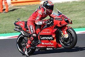 MotoGP: Bagnaia concede il bis a Misano, Bastianini sul podio!