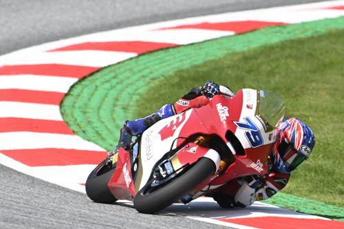 Moto2オーストリア予選:小椋藍、2戦連続フロントロウの3番手! PPはサム・ロウズ