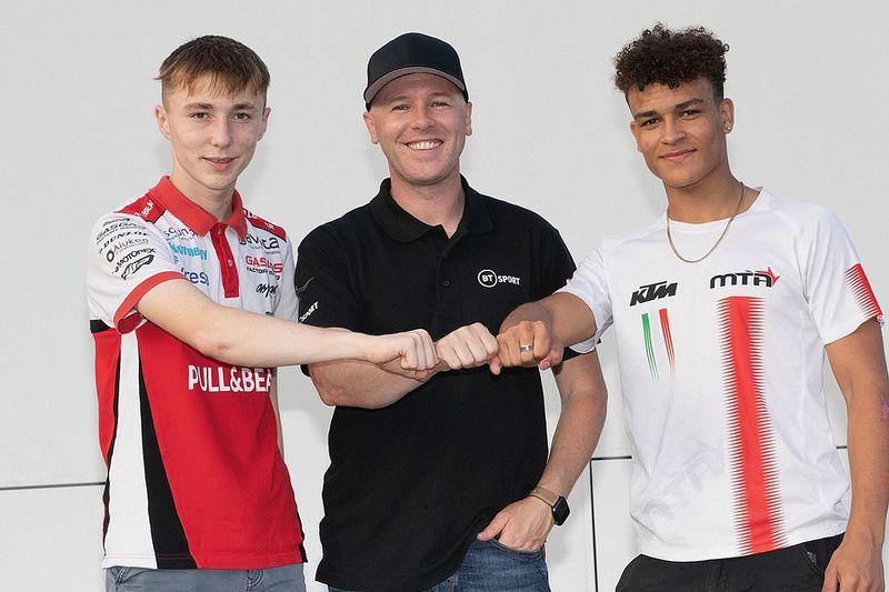 Scott Ogden dan Josh Whatley Gabung ke Tim Moto3 Milik Laverty