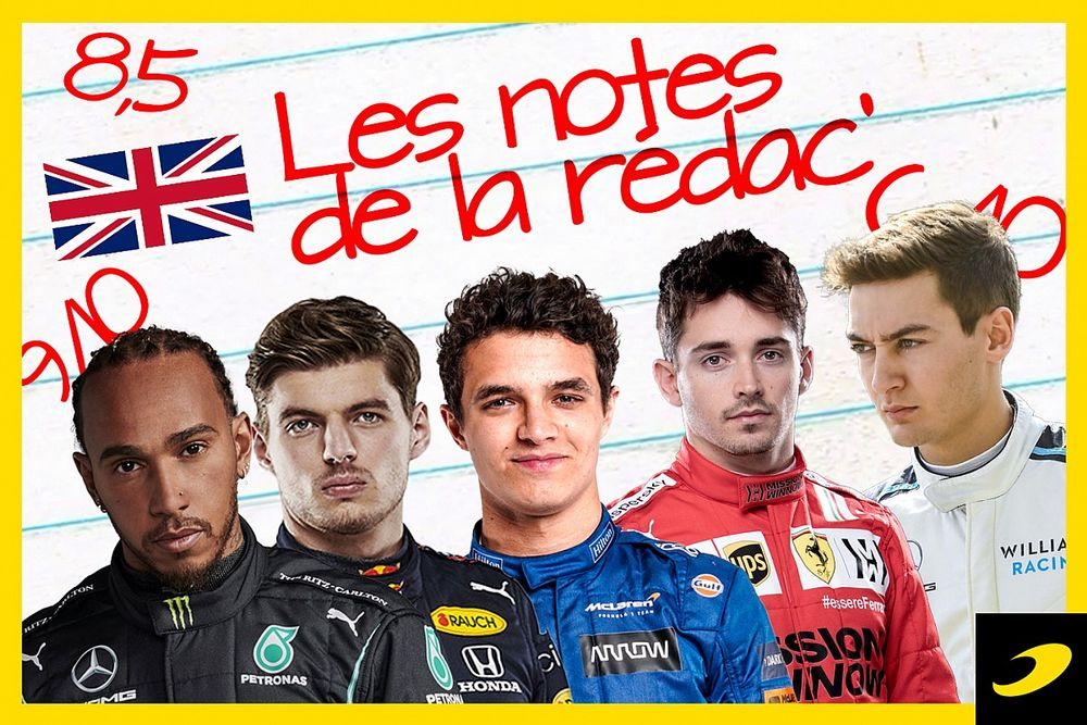 Les notes du Grand Prix de Grande-Bretagne 2021