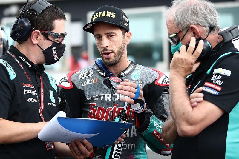 """Les analyses de Dovizioso """"aident beaucoup"""" le team SRT"""