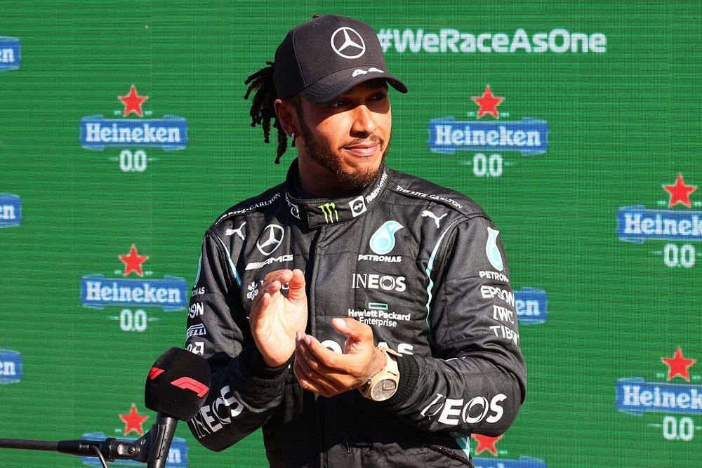Hamilton quiere evitar tensiones de anteriores compañeros con Russell