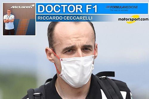 """Ceccarelli: """"Kubica ha una forza mentale incrollabile"""""""