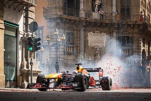 VIDEO: el espectáculo del Red Bull RB7 en las calles de Palermo