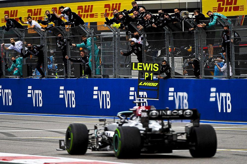 F1-Rennen Sotschi 2021: Hamilton triumphiert, Norris tragischer Held