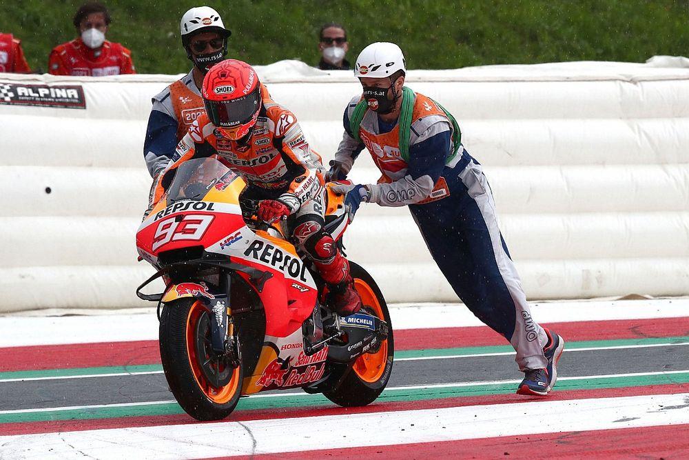 Marquez gebruikt voor bijna elke race pijnstillers