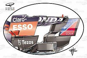 【F1メカ解説】ただでさえ難しかったスパ・フランコルシャンのダウンフォース選択……ウエットコンディションでさらに複雑に