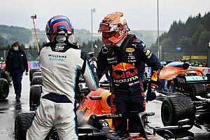 Verstappen le niega la pole a Russell para el GP de Bélgica de F1