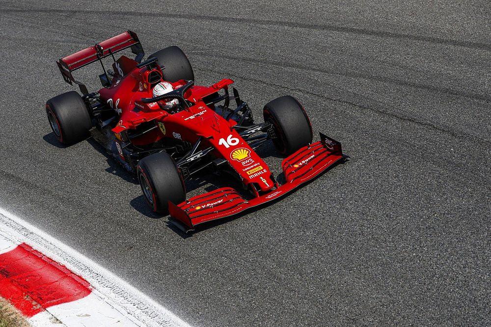 Ferrari met à jour son moteur, Leclerc pénalisé