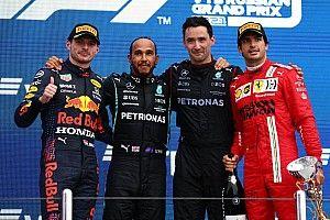 GP Russia: la centesima vittoria di Hamilton in questa photostory