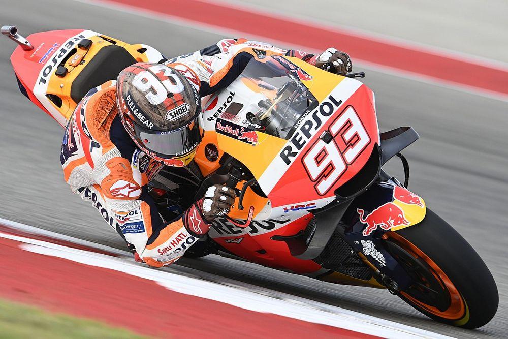 """MotoGP: Marquez è ancora lo """"sceriffo"""" di Austin, Bagnaia terzo"""