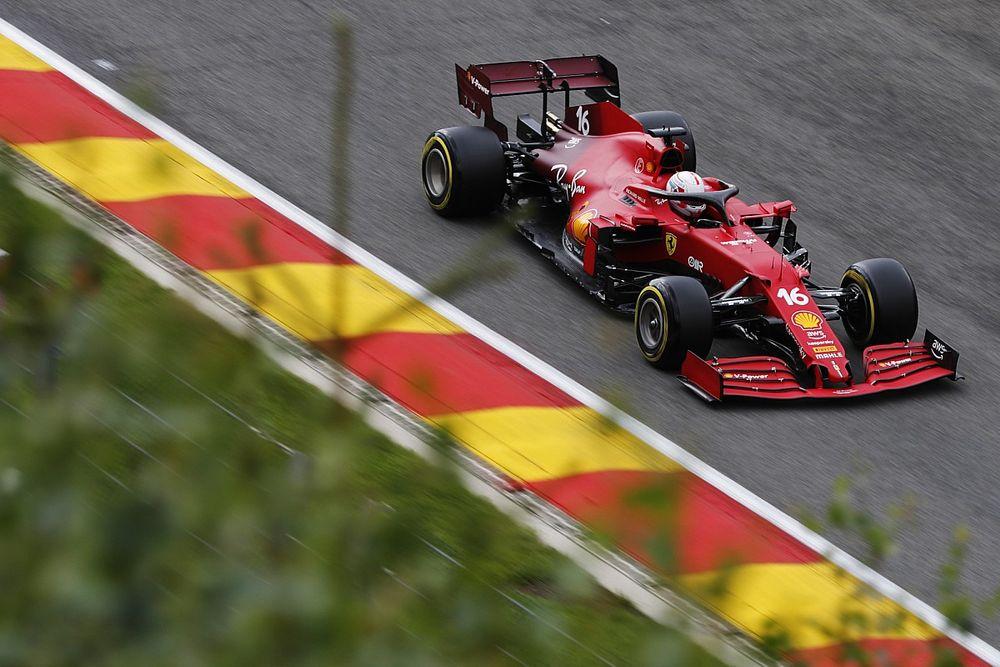 """Leclerc: """"Antrenman seansı böyle hatalar için var"""""""
