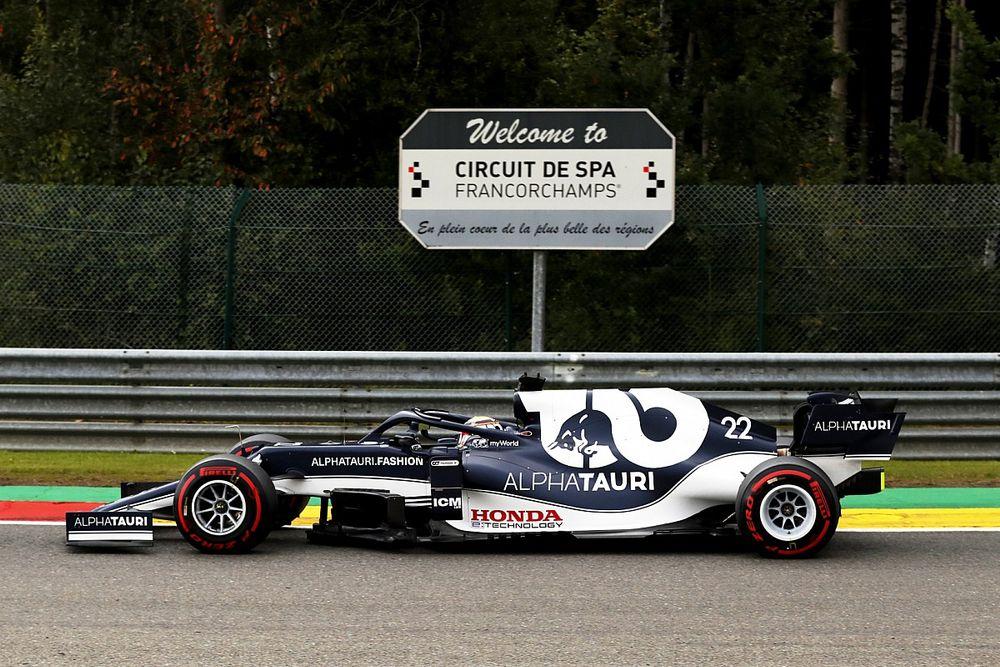 角田裕毅、ベルギーGPでの目標は「フリー走行を使って徐々にペースを上げていくこと……今のところ順調」