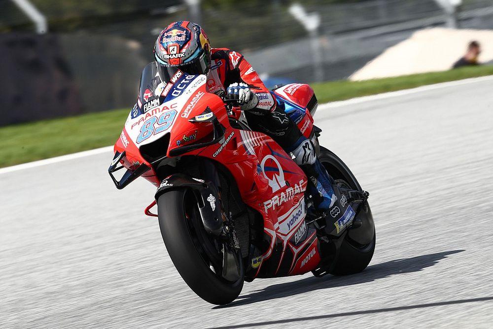 MotoGPスティリア予選:新人マルティン、レコード更新! 今季2度目PP獲得。中上貴晶は10番手