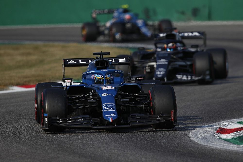 """Alonso: Alpine """"best team"""" in F1 midfield without fastest car"""