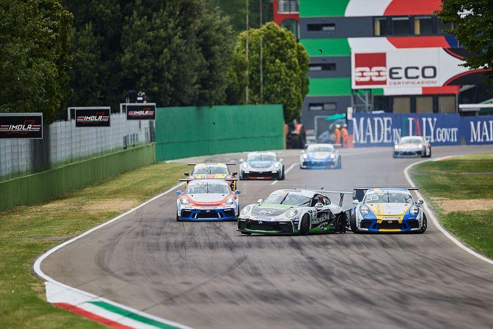 Carrera Cup Italia, Imola: Iaquinta penalizzato per il crash con Levorato