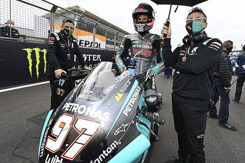 Vierge desestima la oferta de Petronas de correr en MotoGP en Aragón