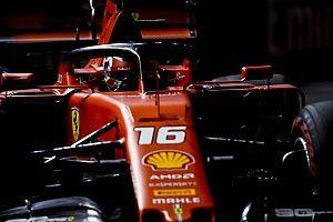 F1シンガポール予選速報:ルクレールが3戦連続PP。フェルスタッペン4番手