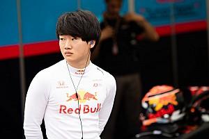 角田裕毅、カーリンからFIA F2ポストシーズンテスト参加へ
