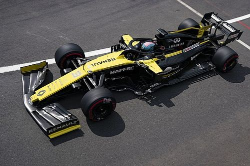 Motorprobleem Renault blijft zonder gevolgen voor Ricciardo