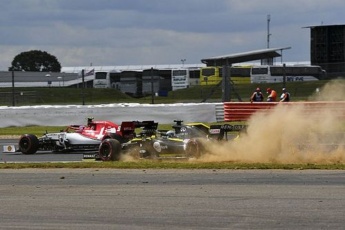 British GP: Best images from Friday's practice action