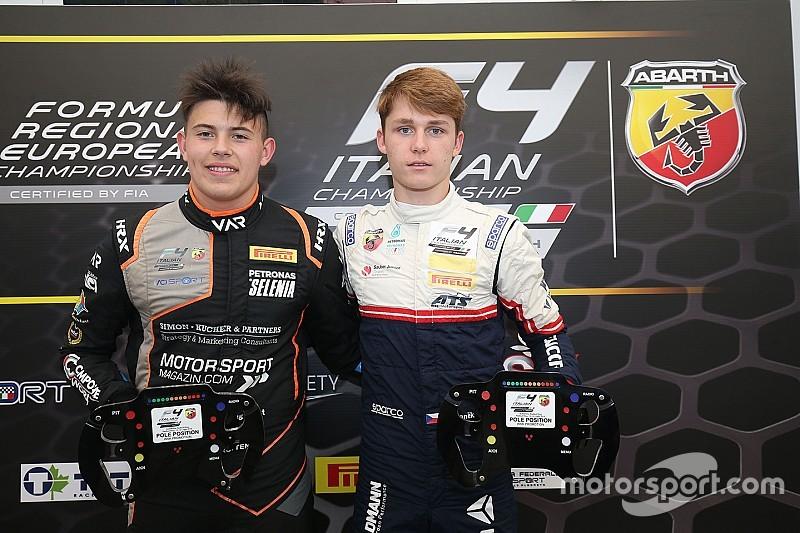 F4, Red Bull Ring: Roman Stanek e Niklas Kruetten si dividono le pole