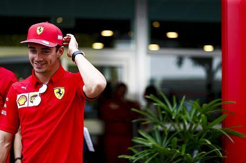 """Leclerc mira """"lo negativo"""" a pesar de las victorias"""