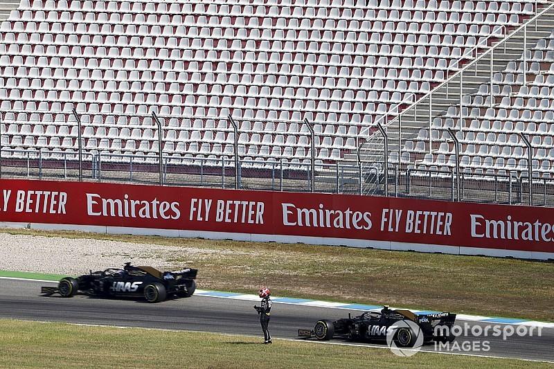 """Haas diz que """"seria desespero"""" trocar pilotos no meio da temporada"""