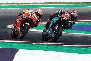 """Quartararo """"pas encore prêt"""" à contrer Márquez sur toutes les courses"""