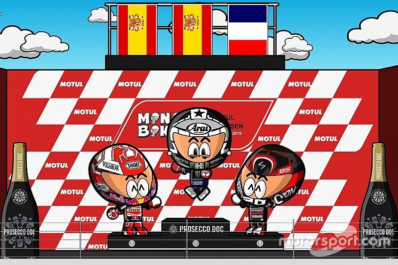 Vídeo: el GP de Holanda 2019 de MotoGP, por MiniBikers