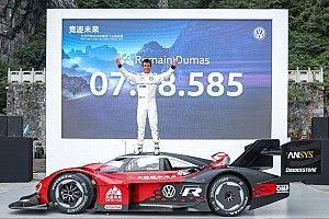 Электрокар Volkswagen установил рекорд на трассе в Китае