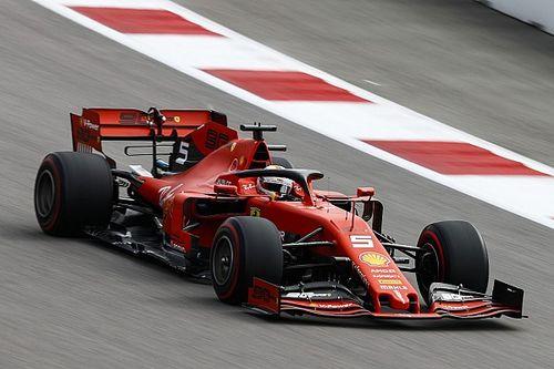 """Vettel : Ferrari bénéficie d'une plus grande """"liberté de réglages"""""""