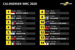 Corse, Catalogne et Australie absentes du calendrier WRC 2020