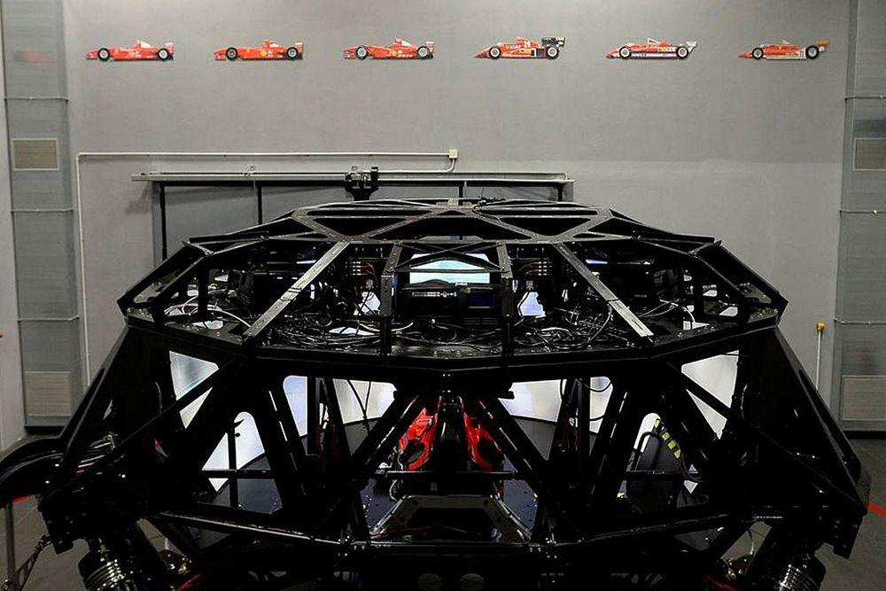 Ferrari jubila su simulador