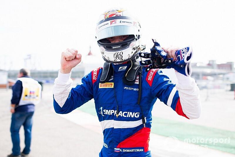 Шварцман выиграл титул в Формуле 3
