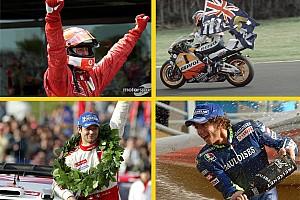 Galería: pilotos que ganaron cinco mundiales consecutivos