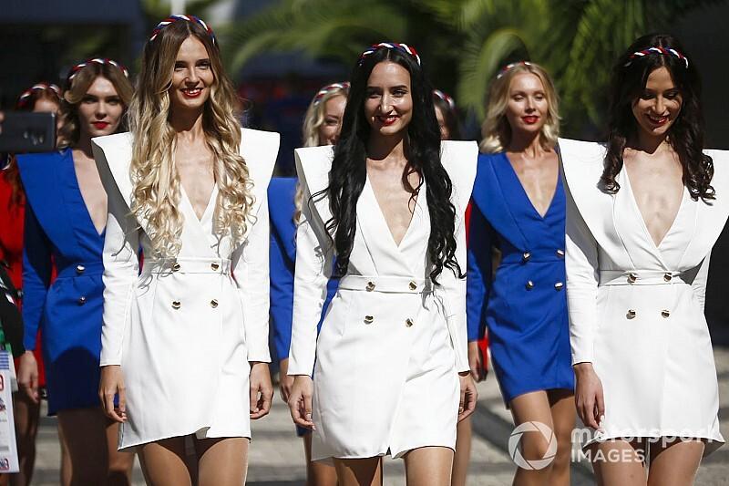 Лучшие фотографии Гран При России: воскресенье