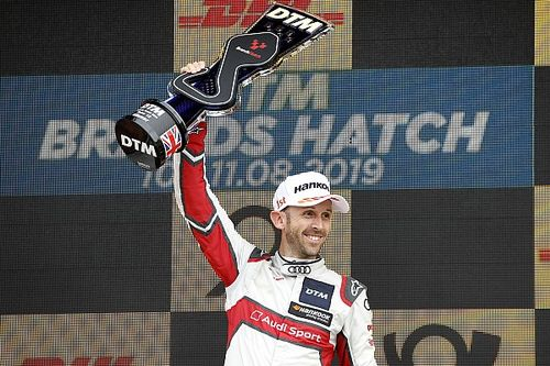 Brands Hatch DTM: Rast resists Muller for Race 2 win
