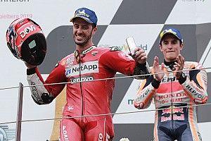 """Marquez: """"Se Dovizioso vince il mondiale, sono tutti contenti"""""""