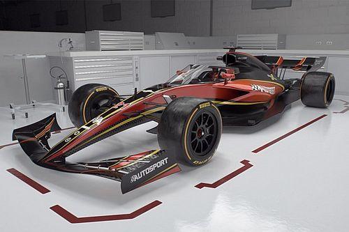 La F1 svela il prototipo 2021 in galleria del vento