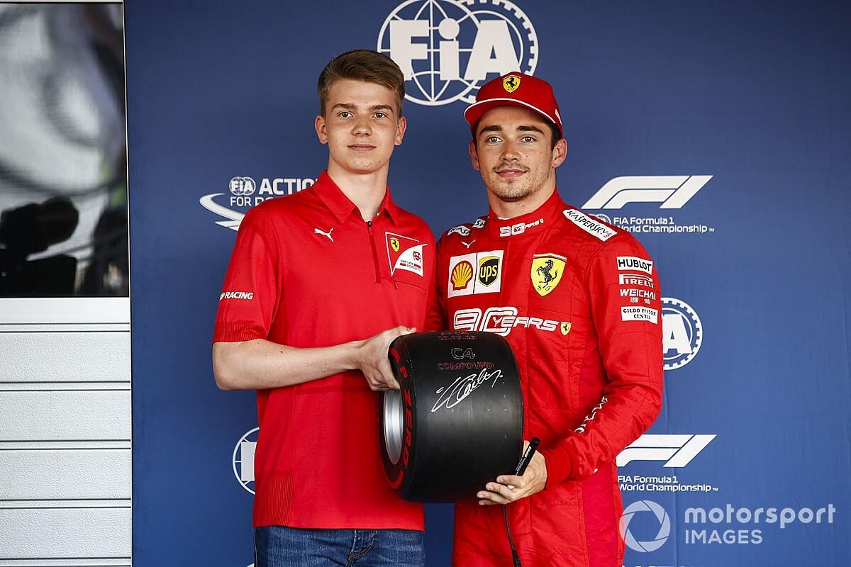 VÍDEO: Veja a volta voadora da pole de Leclerc no GP da Rússia de F1