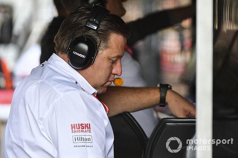 """Brown: """"McLaren yarış kazanmaya hazır değil"""""""