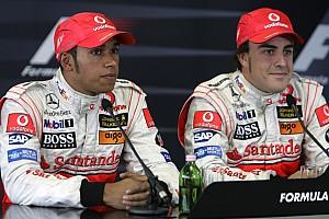 """""""Rivalen benutten zwakke plekken Hamilton niet"""", stelt Alonso"""