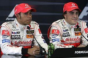 """Barrichello: """"Hoy Hamilton es mejor que Alonso"""""""