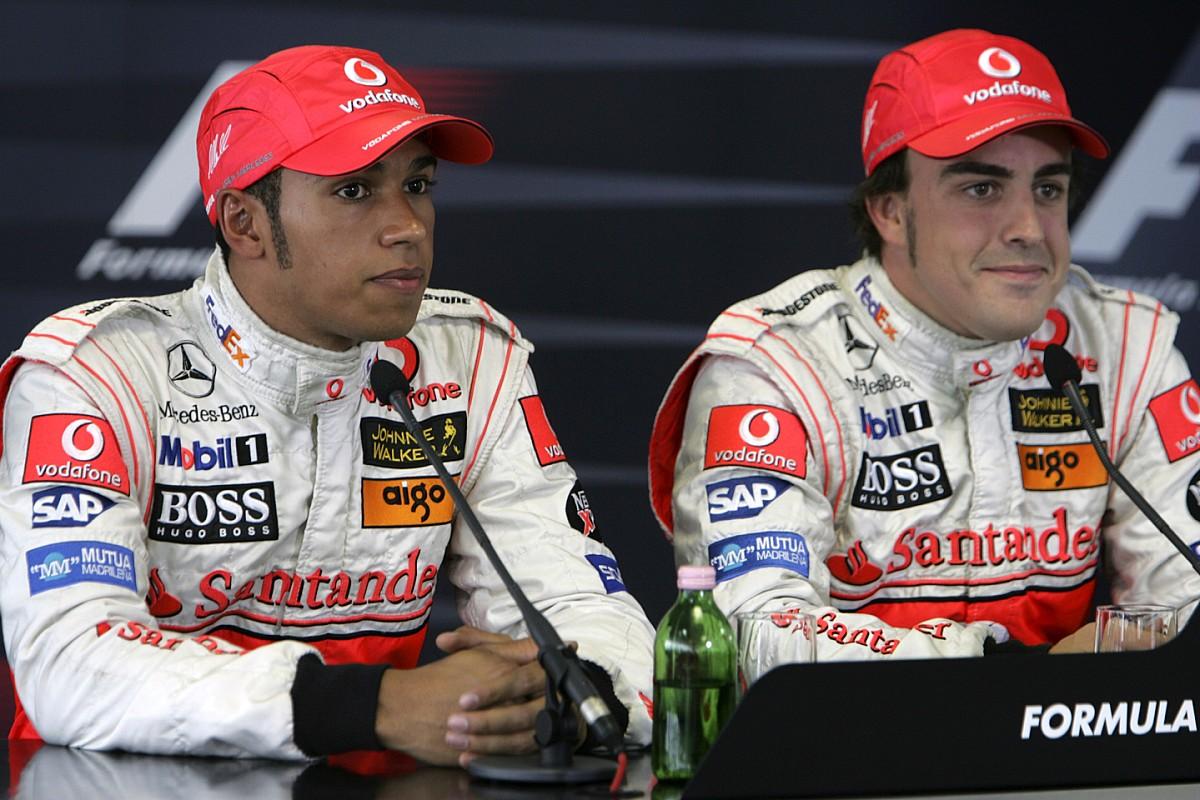 Hamilton i Alonso - najlepszy duet